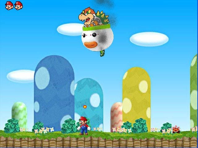 Mario Magic World last level