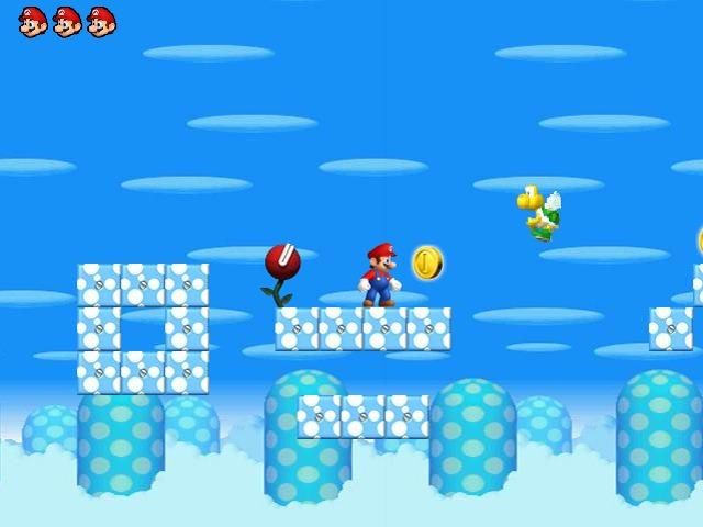 Mario Magic World level1