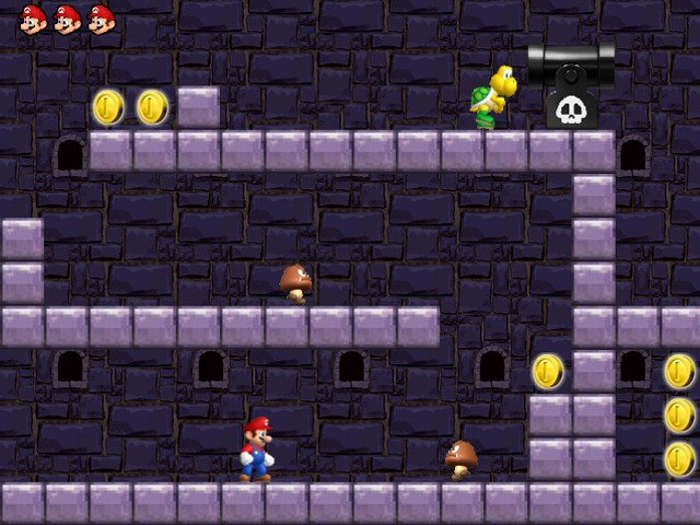 Mario Magic World level4