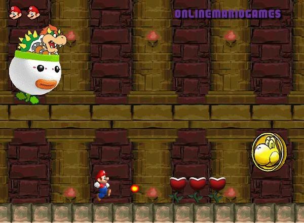 Mario running challenge level 2