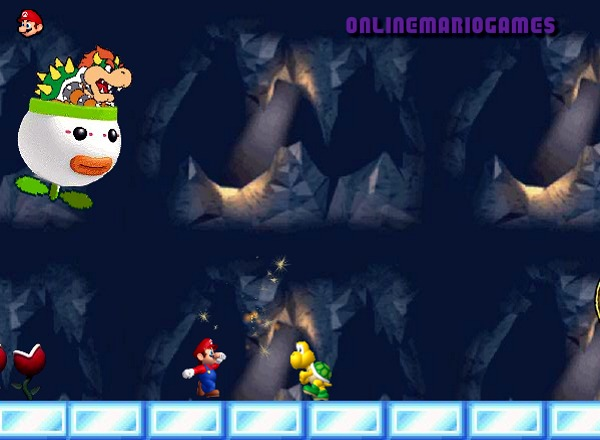 Mario running challenge level 3