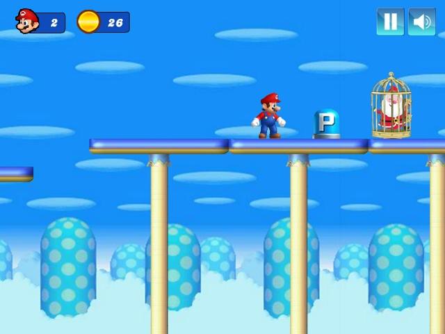 Mario Christmas Challenge Game Complete