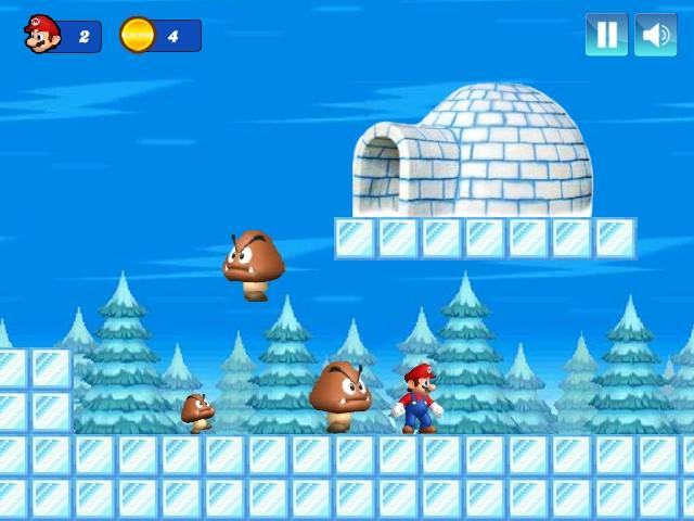 Mario Christmas Challenge Level 1