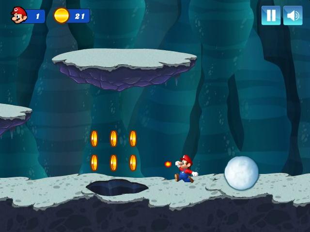Mario Christmas Challenge Level 2