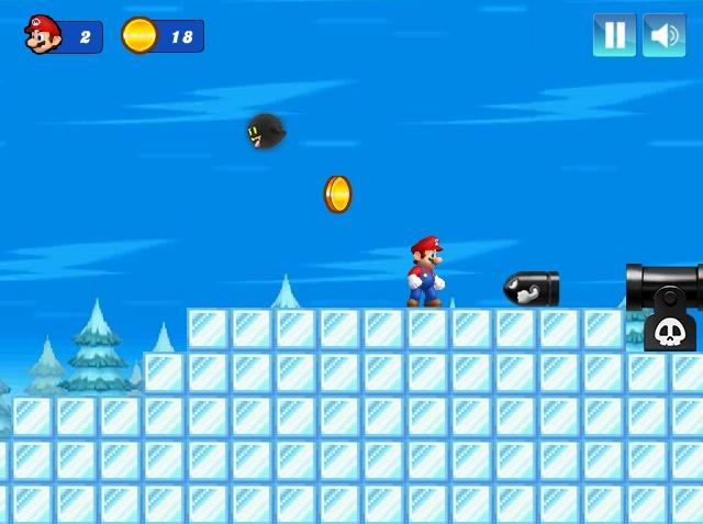Mario Christmas Challenge Level 3