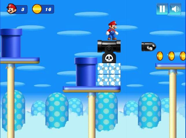 Mario Christmas Challenge Level 4