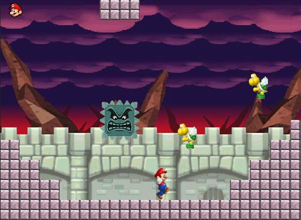 Mario hero level 1
