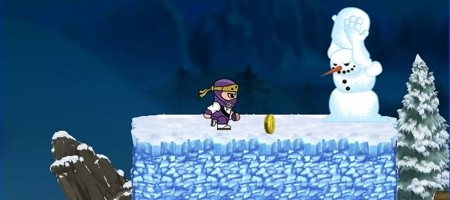 Ninja Ben In Winterland - featured