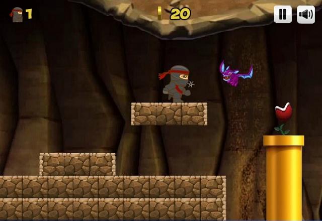 Ninja Ben in Mario's world level2