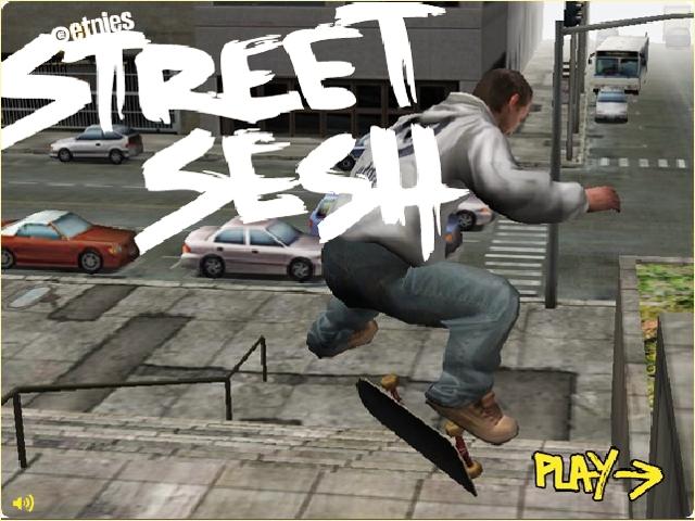 Street Sesh intro screen
