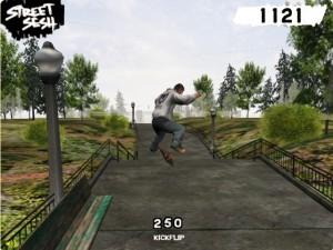 Street Sesh kickflip