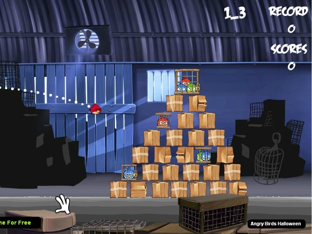 Angry birds rio level 4
