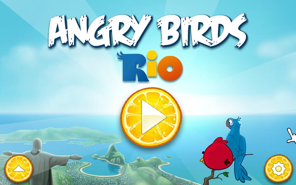 Angry birds rio online intro