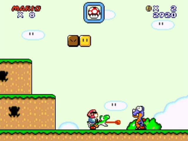 Super Mario flash Yoshi