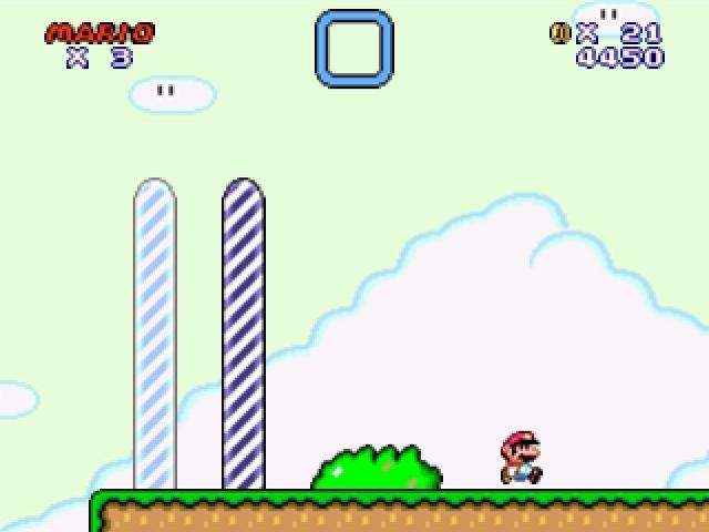 Super Mario flash end level