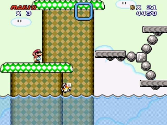 Super Mario flash level 2