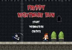 Freddy Nightmare Run start