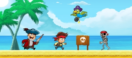 Pirate Run Away game