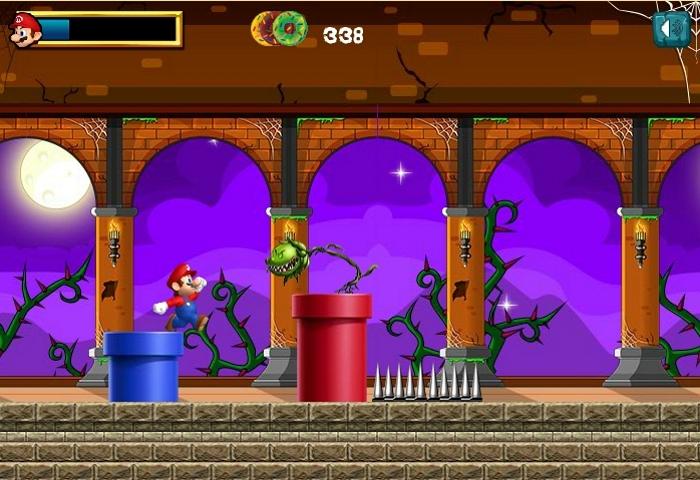 Cursed Mario game level 4