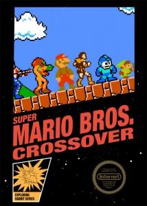 Super Mario crossover nes