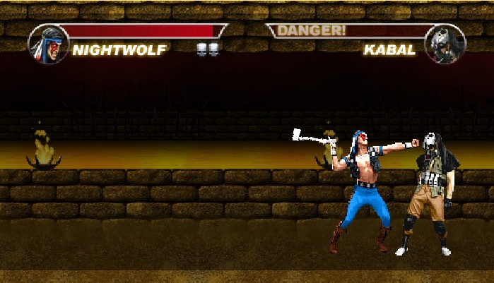 Mortal Kombat Karnage Nightwolf fatality