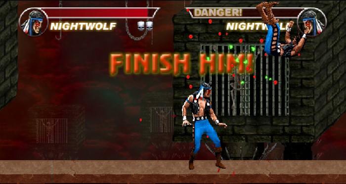 Mortal Kombat Karnage fight against himself