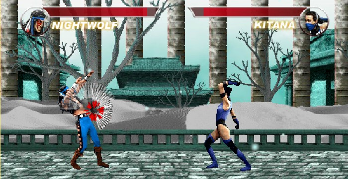 Mortal Kombat Karnage wolf vs kitana 2