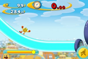 Pac Man Dash online finish