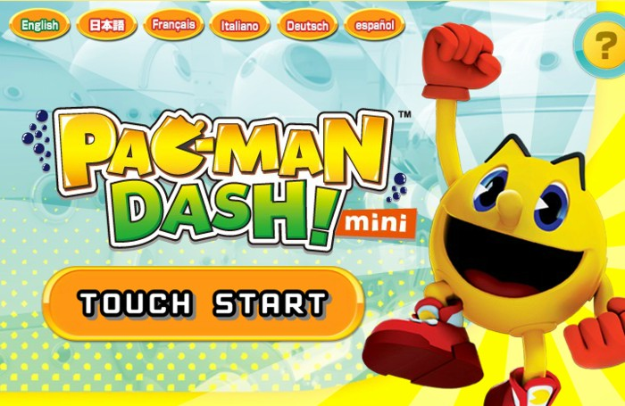 Pac Man Dash online flash version