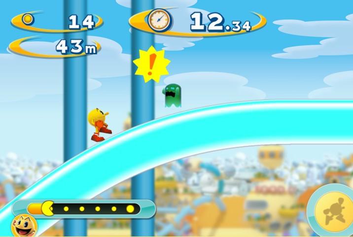 Pac Man Dash online game play