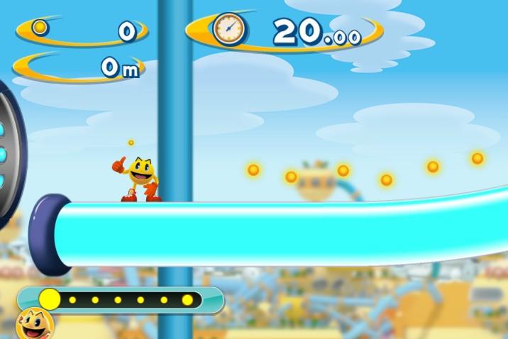 Pac Man Dash online start