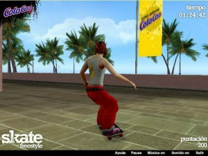 Freestyle Skate game