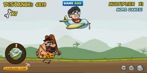 Sleeping caveman plane achievement