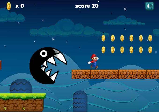 Ultimate Mario Run level1