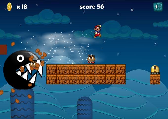 Ultimate Mario Run level4