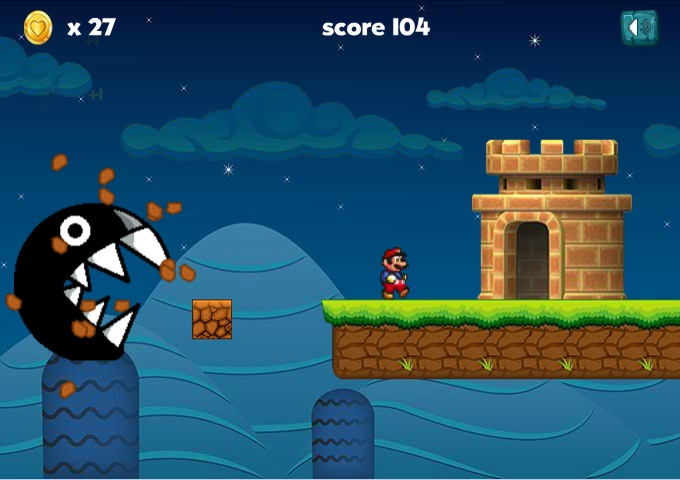 Ultimate Mario Run level4 castle
