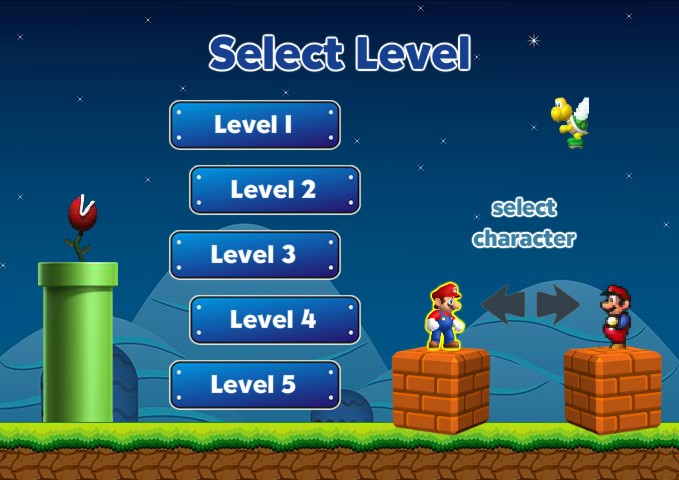 UltimateMarioRun_select_character