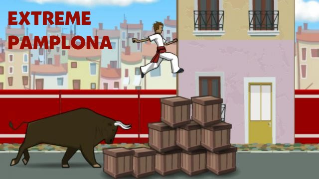 Extreme Pamplona flash game