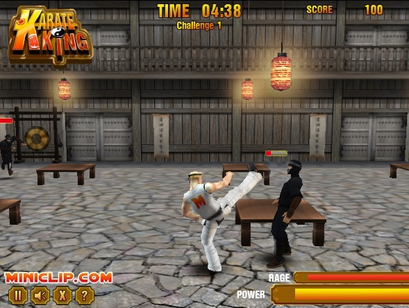 Karate King ninja