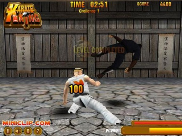 Karate master: knock down blow (free pc action game): freepcgamers.