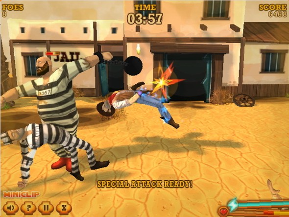 Saloon Brawl 2 Prison