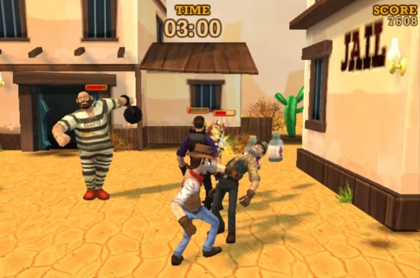 Saloon Brawl 2 fight