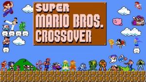 Super Mario Crossover game
