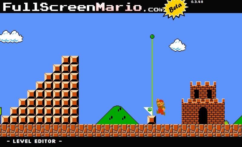 Super Mario Maker flash